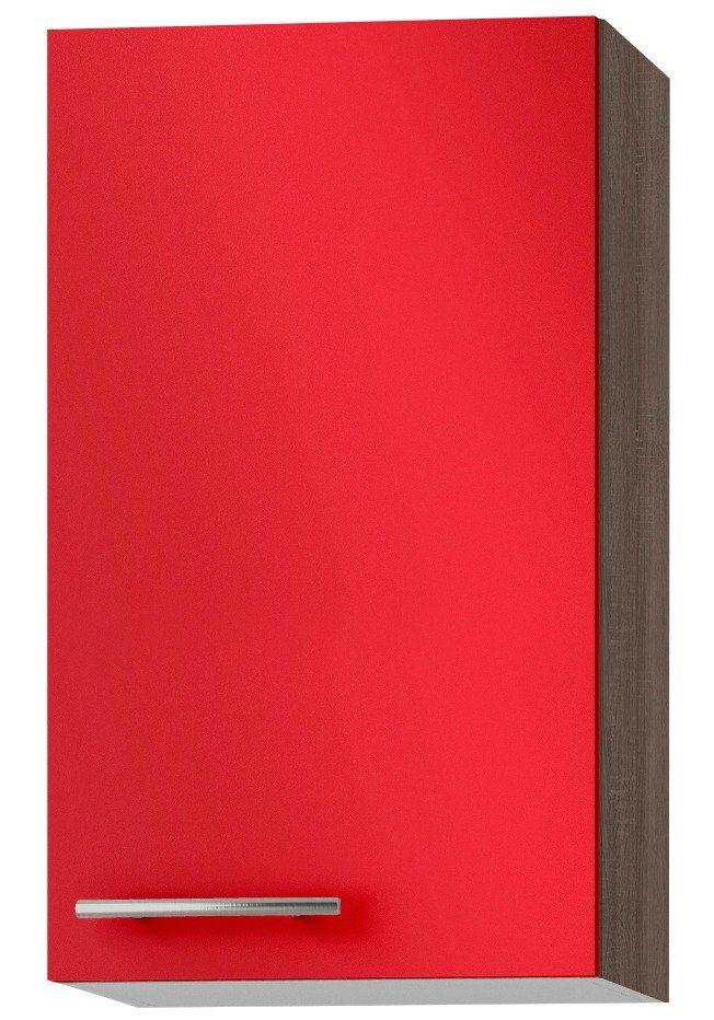 OPTIFIT Küchenhängeschrank »Knud, Breite 40 cm«   Küche und Esszimmer > Küchenschränke > Küchen-Hängeschränke   Rot   Holzwerkstoff   OPTIFIT