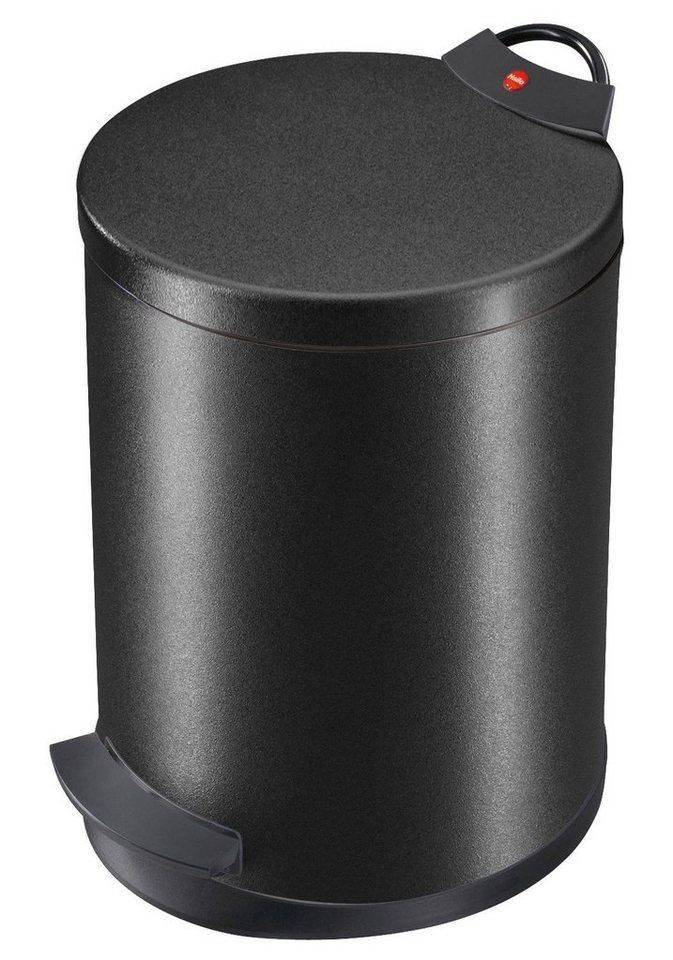 Tret-Abfalleimer »T2.13« in schwarz
