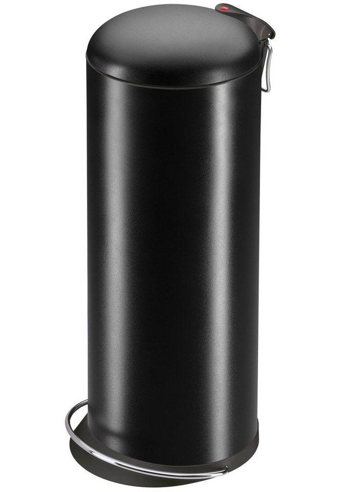 Tret-Abfalleimer »TOPdesign 26« in schwarz