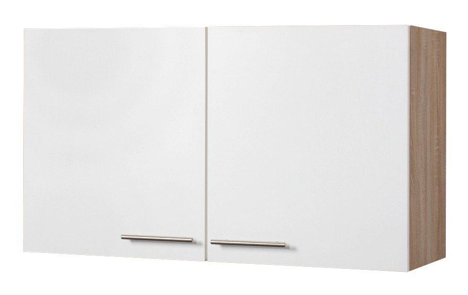 Wiho Küchen Küchenhängeschrank »Montana«, Breite 100 cm | Küche und Esszimmer > Küchenschränke > Küchen-Hängeschränke | Eiche - Holzwerkstoff | wiho Küchen