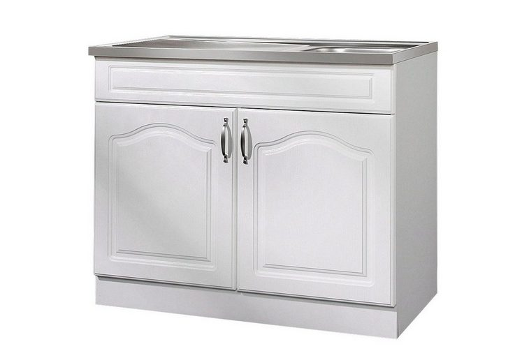 wiho k chen sp lenschrank lausanne b t h 100 60 85 cm online kaufen otto. Black Bedroom Furniture Sets. Home Design Ideas