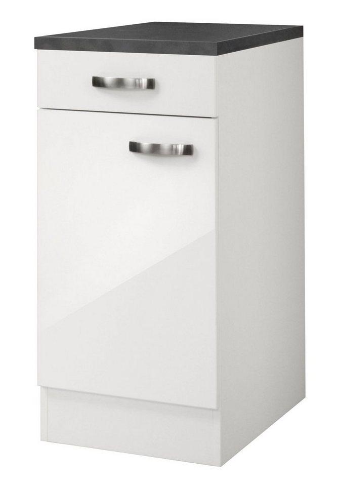Küchenunterschrank »Lagos«, Breite 40 cm in weiß