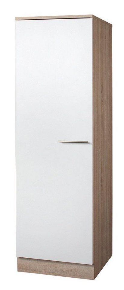 Vorratsschrank »Montana«, Breite 50 cm in weiß/eichefarben sonoma