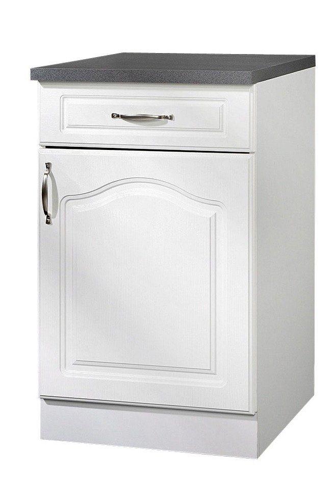Küchenunterschrank »Lausanne«, B/T/H: 50/50/85 cm in weiß