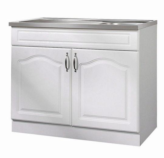 wiho k chen sp lenschrank lausanne b t h 100 50 85 cm. Black Bedroom Furniture Sets. Home Design Ideas