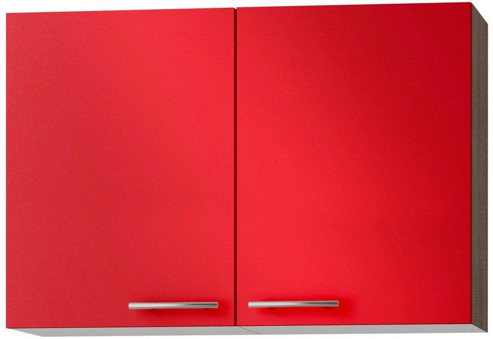 Küchenhängeschrank »Knud«, Breite 100 cm in granat rot