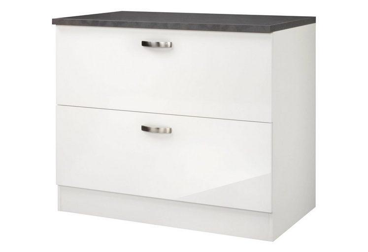 optifit k chenunterschrank lagos breite 100 cm otto. Black Bedroom Furniture Sets. Home Design Ideas
