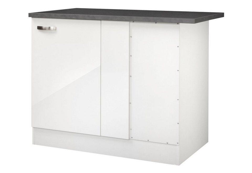 Eckunterschrank »Lagos«, Breite 110 cm in weiß