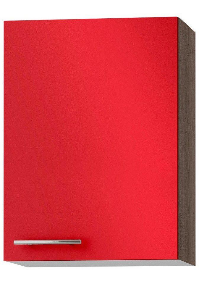 Küchenhängeschrank »Knud«, Breite 50 cm in granat rot