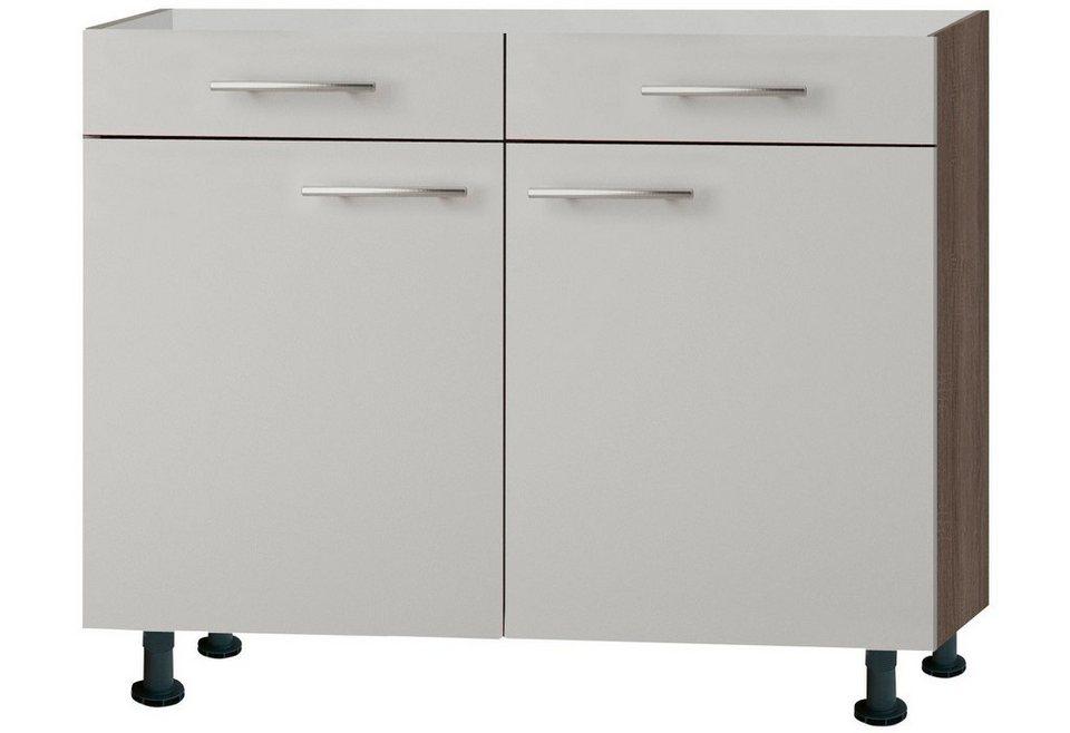 Küchenunterschrank »Mika«, Breite 100 cm in sahara beige