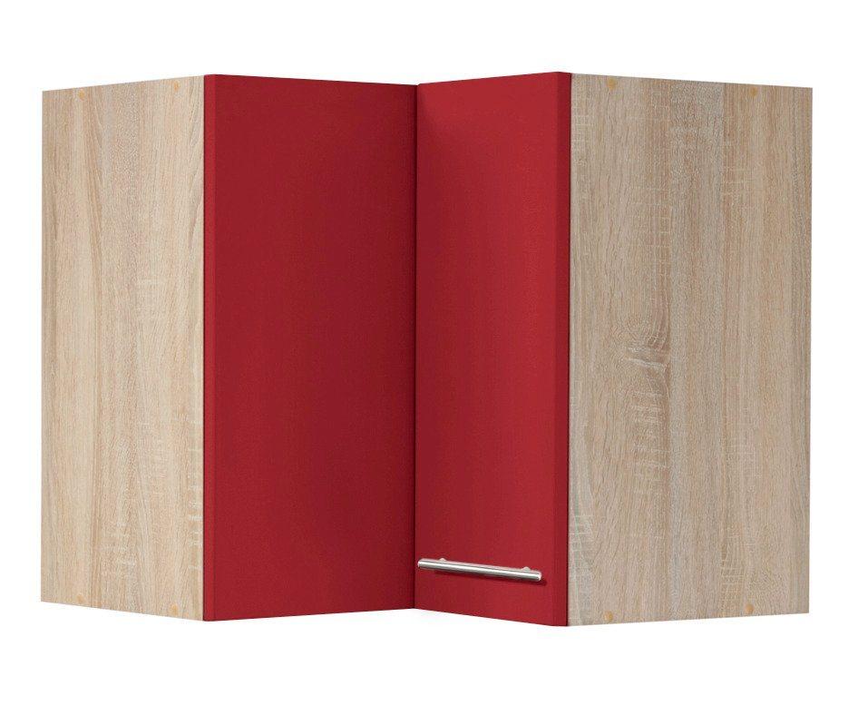 wiho küchen eck-hängeschrank »montana«, breite 60 x 60 cm online ... - Eck Hängeschrank Küche