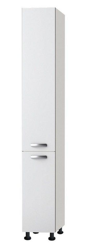 Apothekerschrank »Ole«, Höhe 211,8 cm in weiß