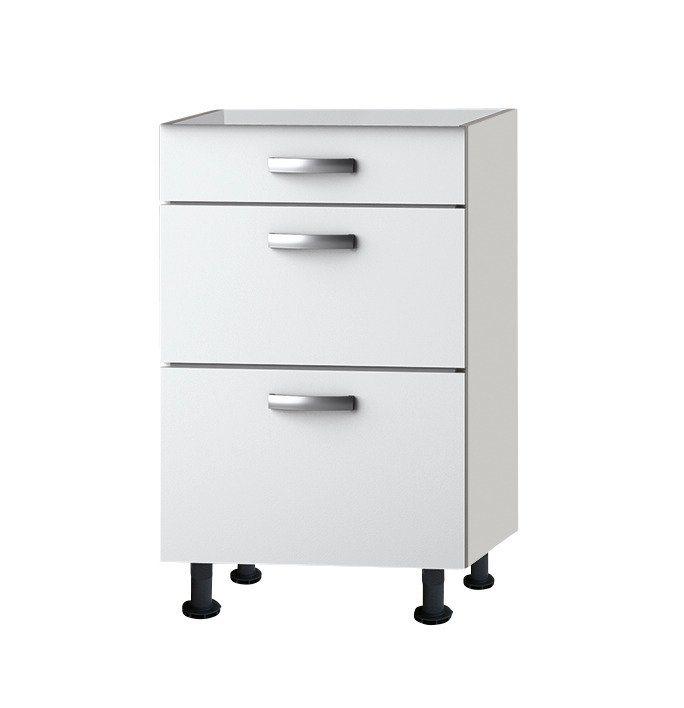Küchenunterschrank »Ole«, Breite 50 cm in weiß