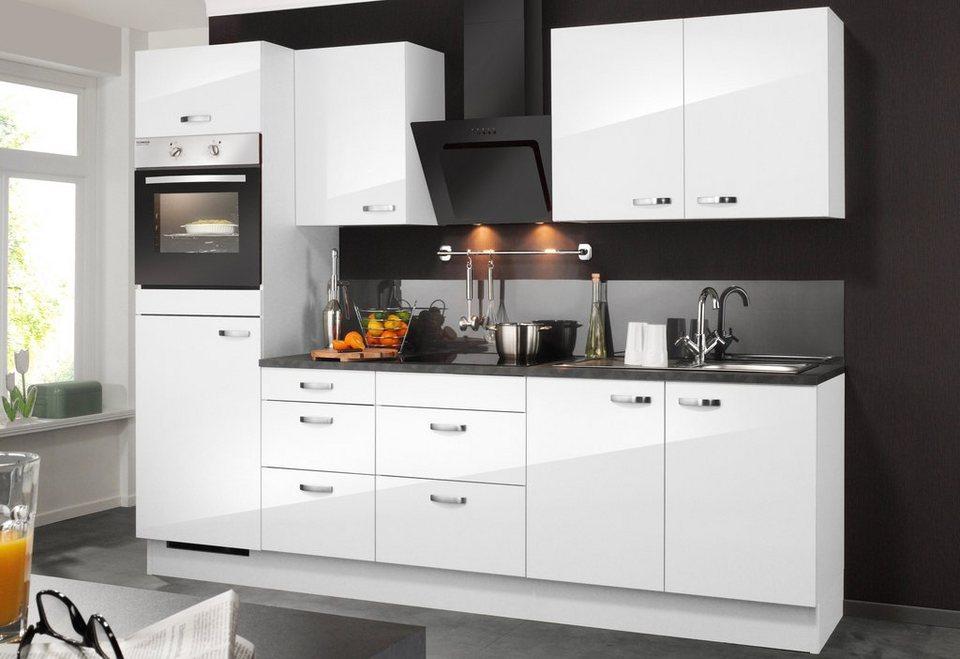Optifit Küchenzeile ohne E-Geräte »Ole«, Breite 270 cm (Set 1) in weiß