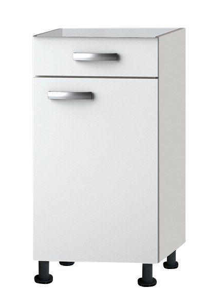 Küchenunterschrank »Ole«, Breite 40 cm in weiß