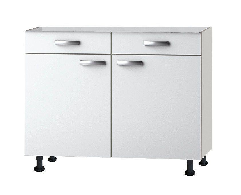 Küchenunterschrank »Ole«, Breite 100 cm in weiß