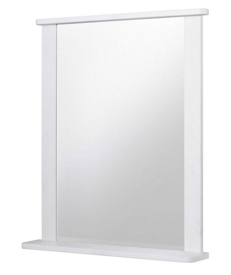 Spiegel / Badspiegel »Sylt« Breite 65 cm, mit Ablage in weiß