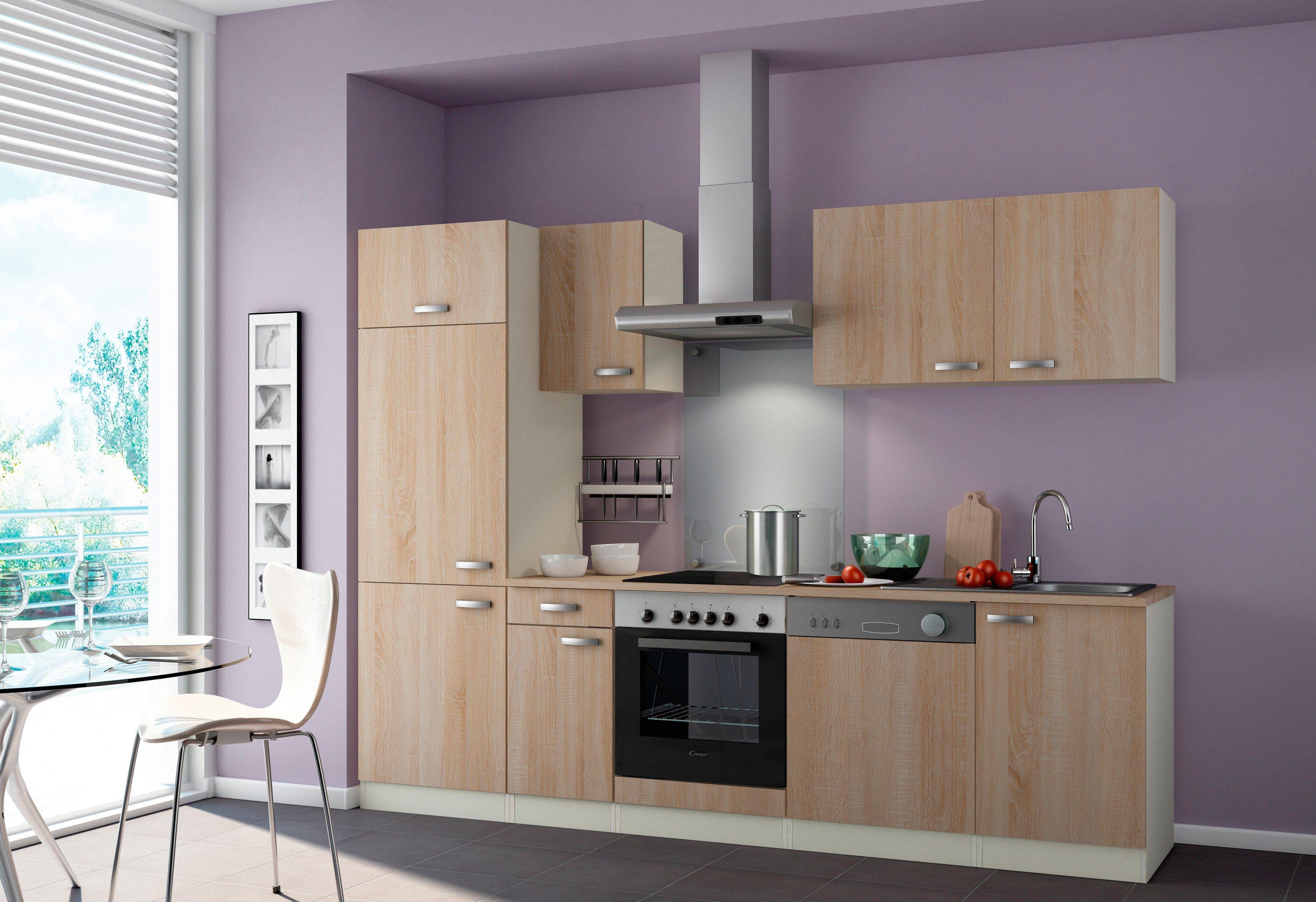 OPTIFIT Küchenzeile ohne E-Geräte »Padua, Breite 270 cm«