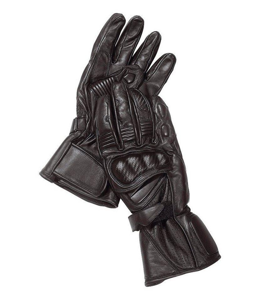 Roleff Motorradhandschuhe »Racewear« in schwarz