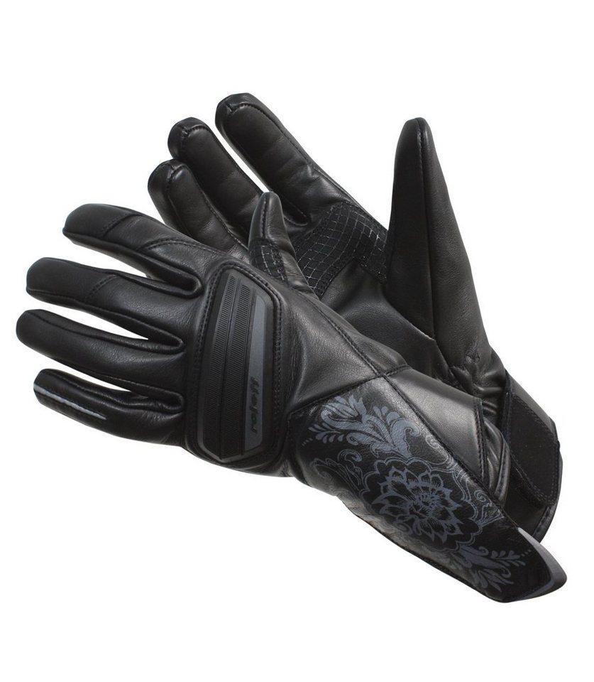 Motorradhandschuhe »RO 79« in schwarz