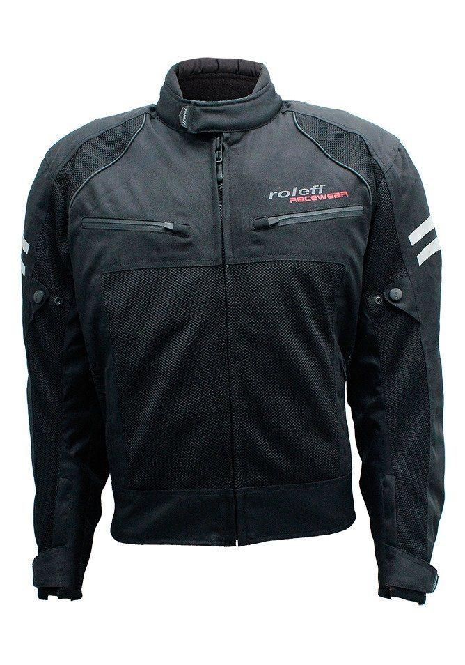 Motorradjacke »RO 613 Mesh-Blouson« in schwarz