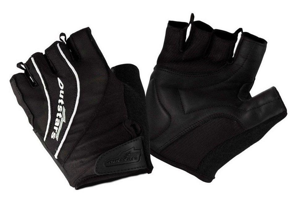 Outstars Fahrradhandschuhe »Outstars« in schwarz/weiß