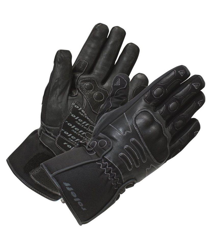 Roleff Motorradhandschuhe »RO 83« in schwarz