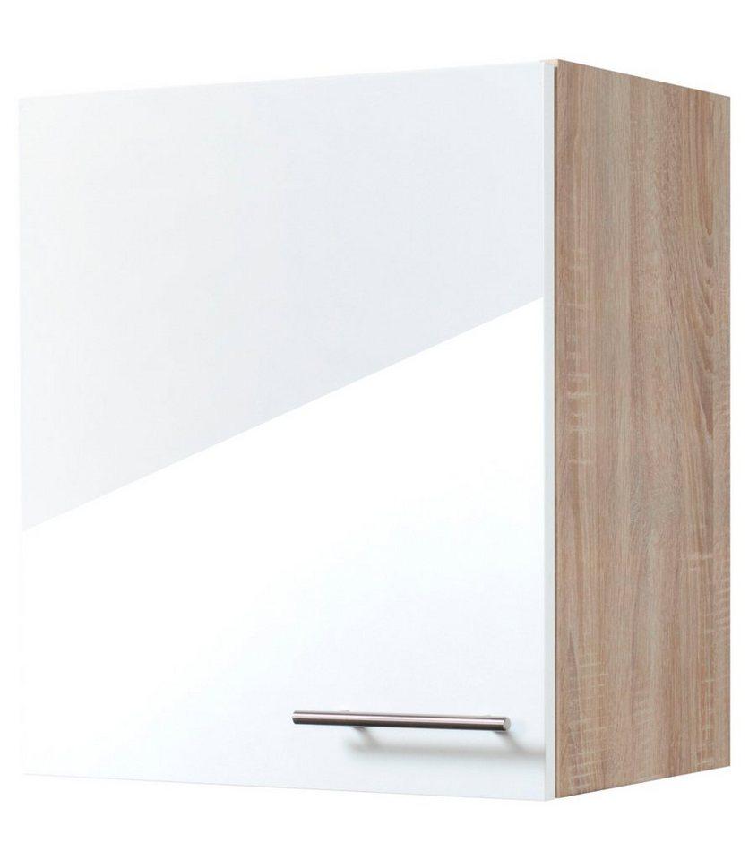 Küchenhängeschrank »Dakar«, Breite 50 cm in eichefarben/weiß