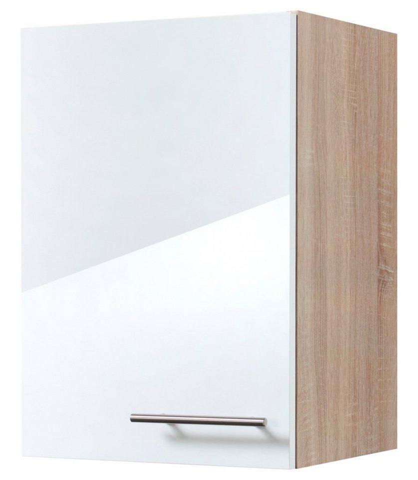 Küchenhängeschrank »Dakar«, Breite 40 cm in eichefarben/weiß