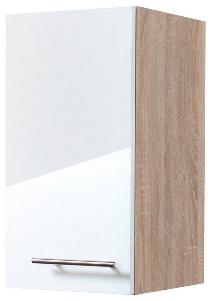Küchenhängeschrank »Dakar«, Breite 30 cm in eichefarben/weiß