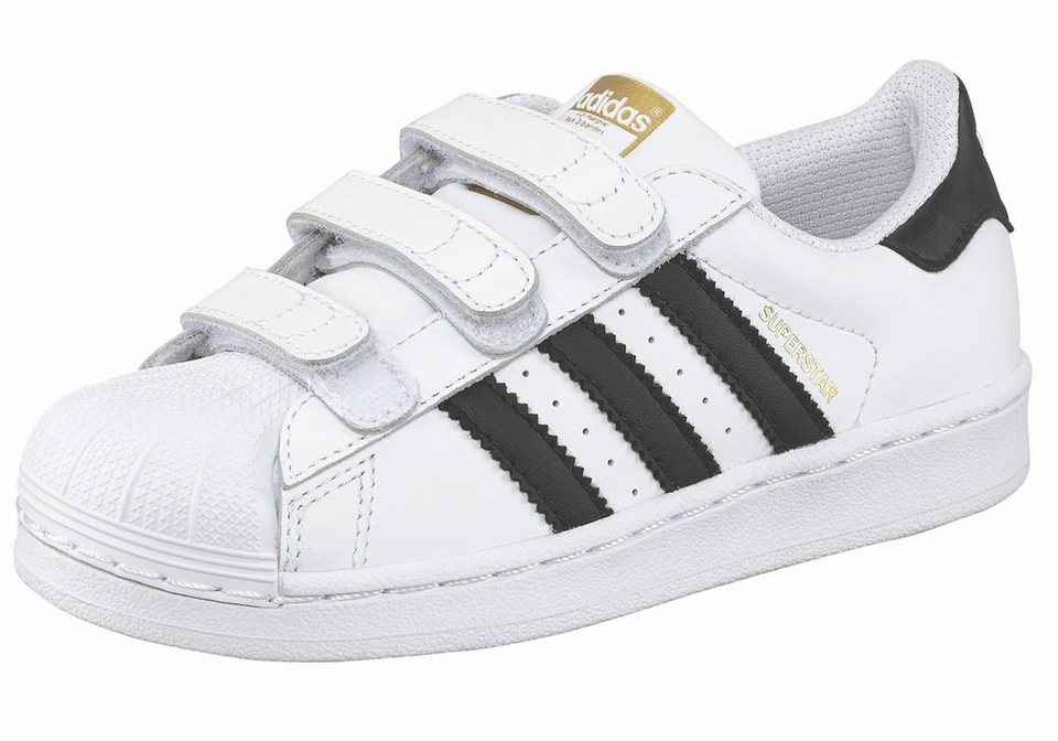 adidas Originals Superstar Foundation Sneaker in Weiß-Schwarz
