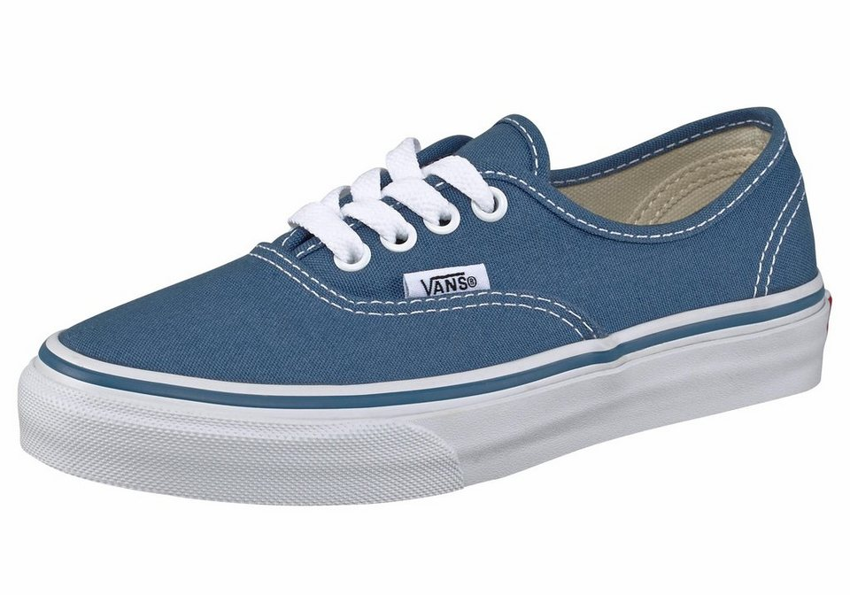 Vans Kinder Authentic Sneaker in Blau