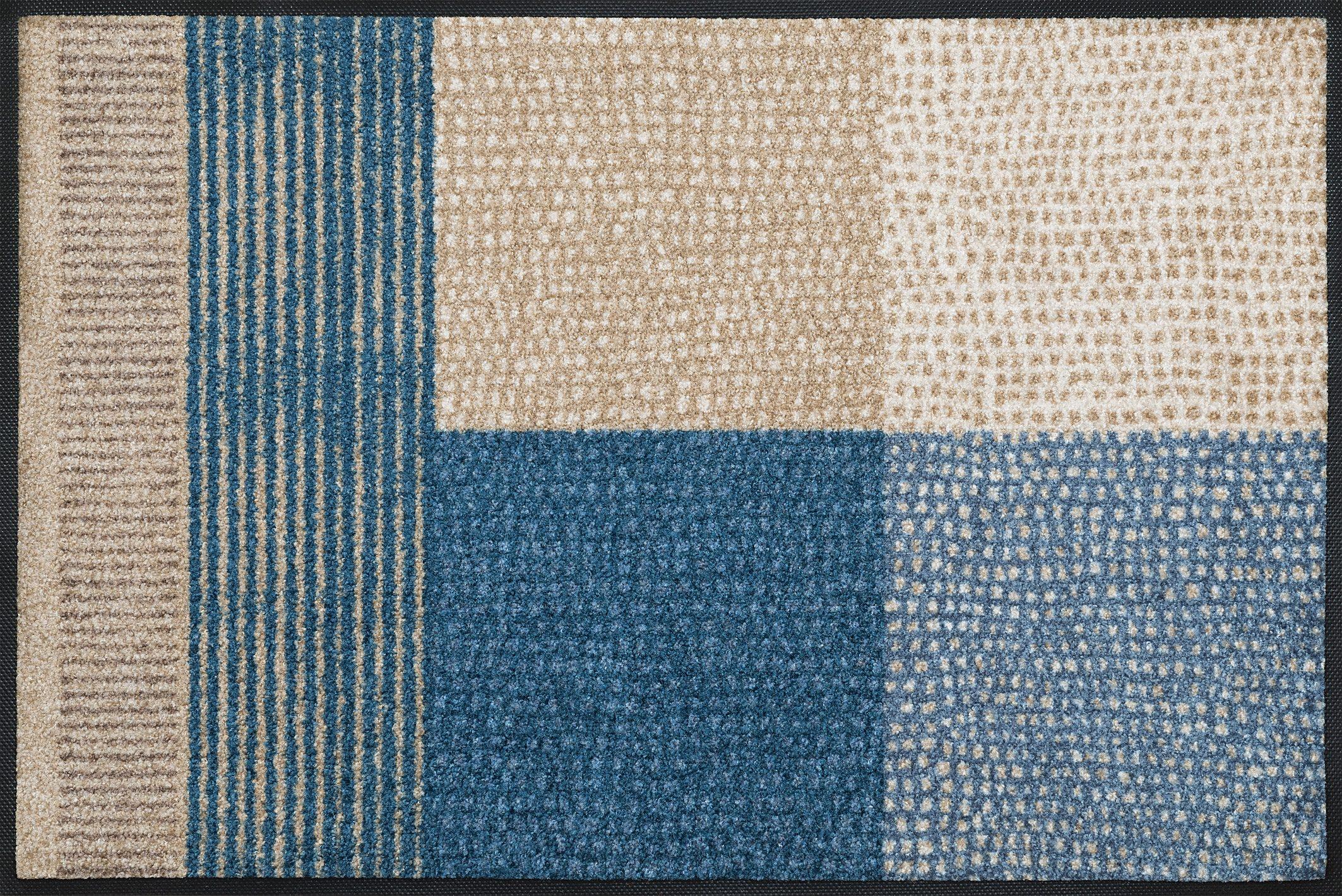 Fußmatte »Lanas«, wash+dry by Kleen-Tex, rechteckig, Höhe 7 mm