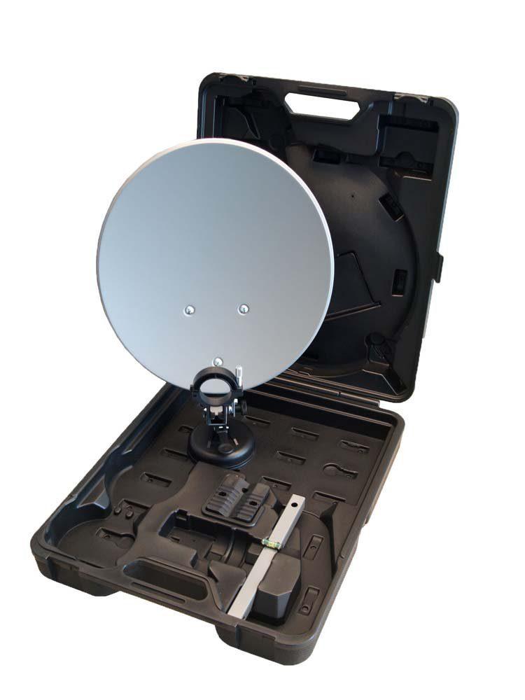 Microelectronic Campingkoffer regular Sat-Anlage digital (ohne Receiver)