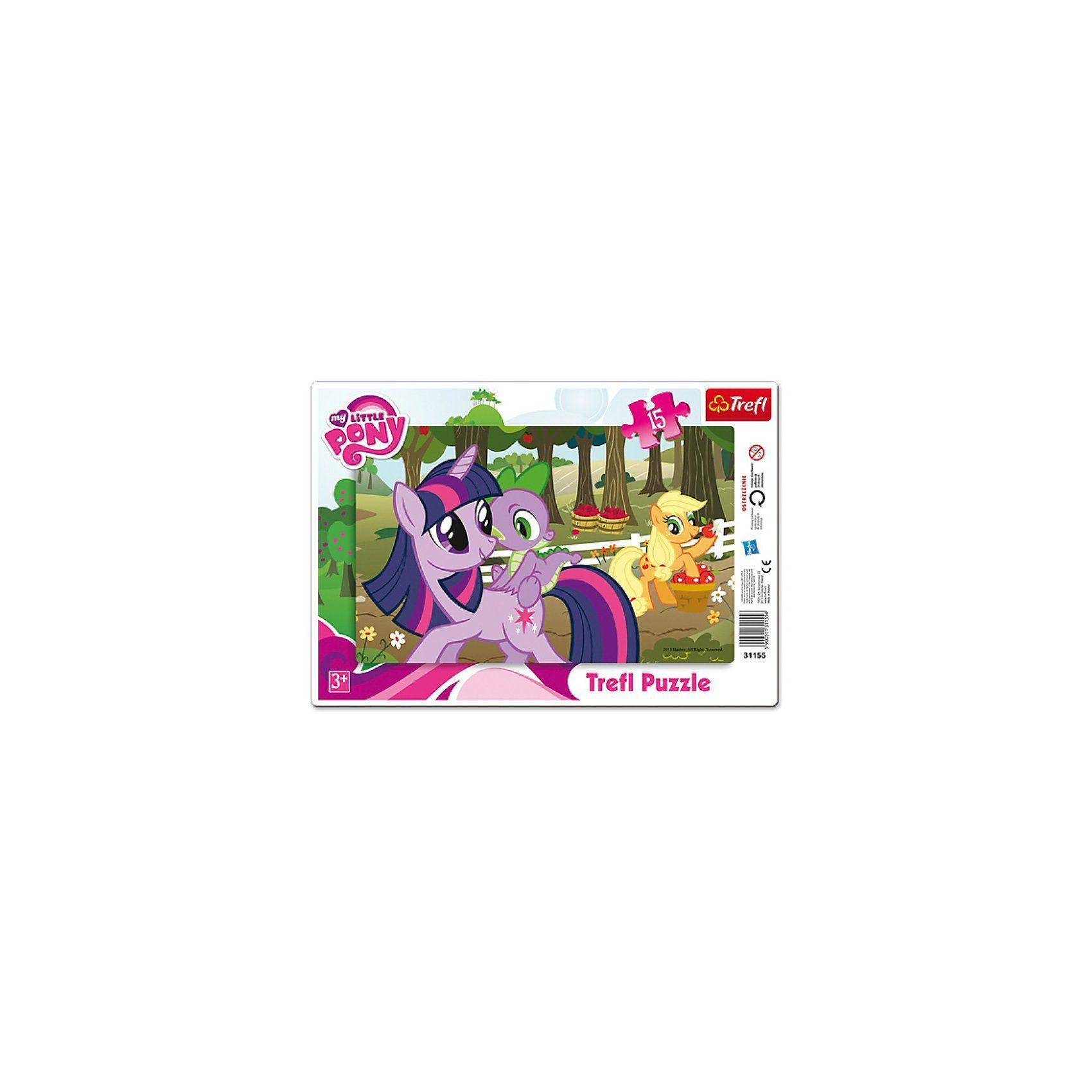 Trefl Rahmenpuzzle 15 Teile - My little Pony