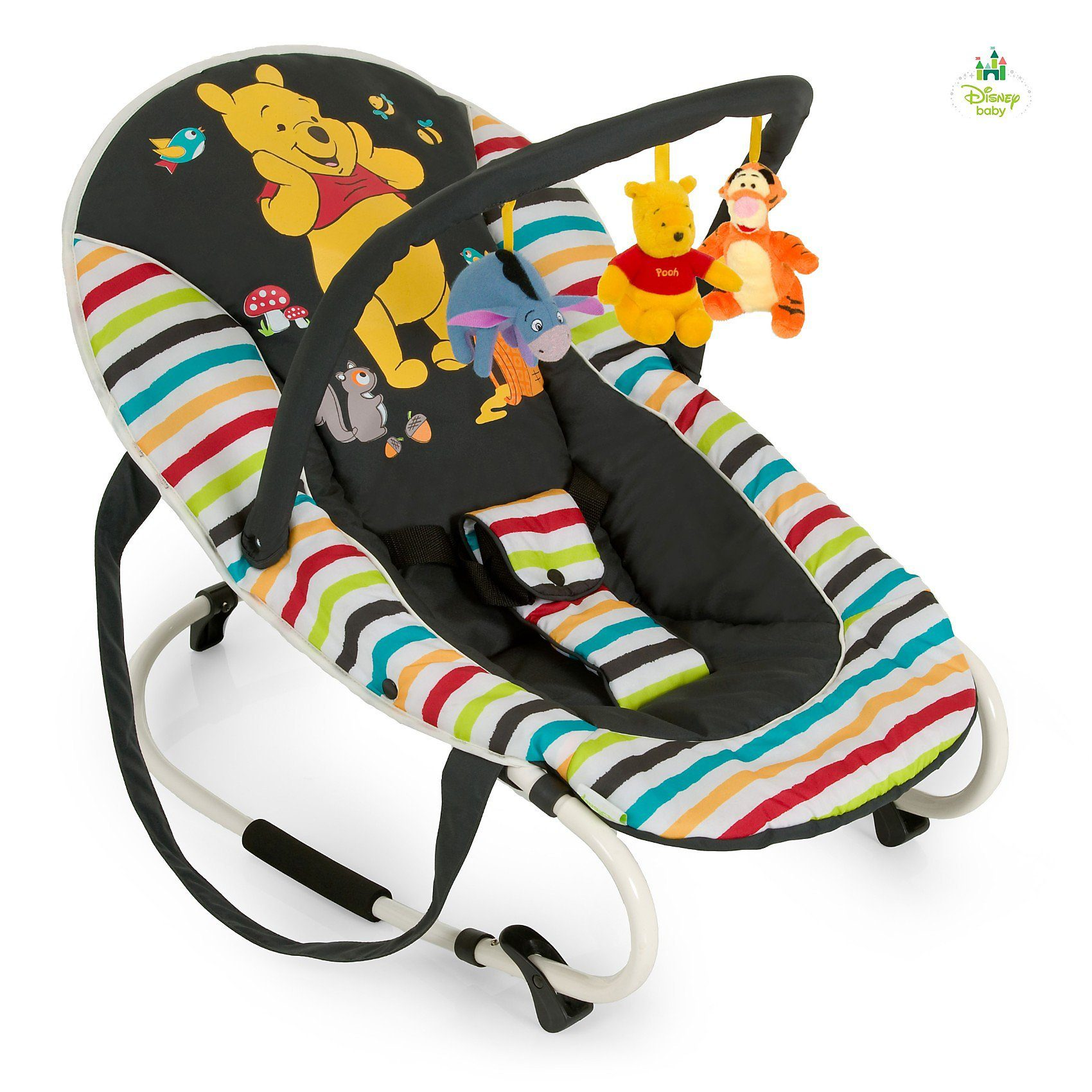 Hauck Wippe Bungee Deluxe, Pooh Tidy Time