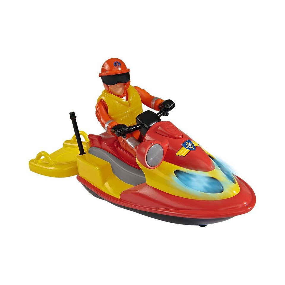 Simba Feuerwehrmann Sam Juno, Jet Ski mit Figur