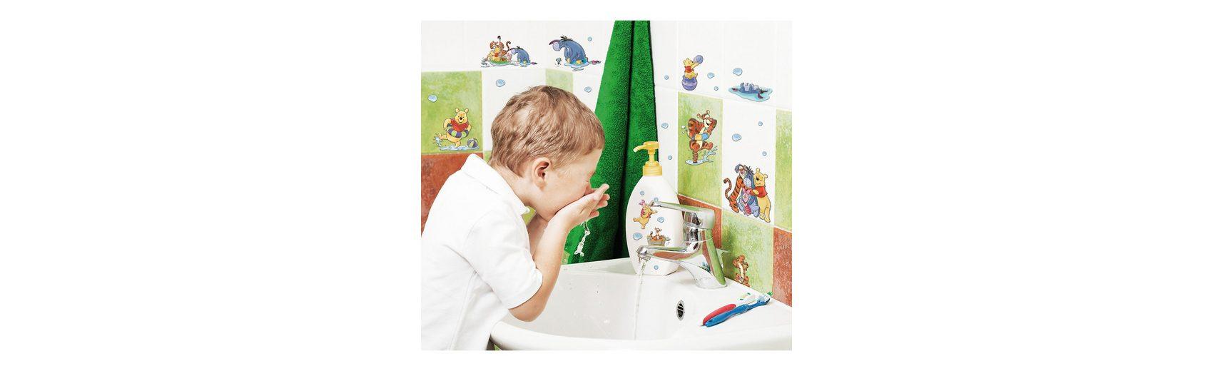 Sticker Creative Winnie the Pooh, Water Play, 40-tlg.