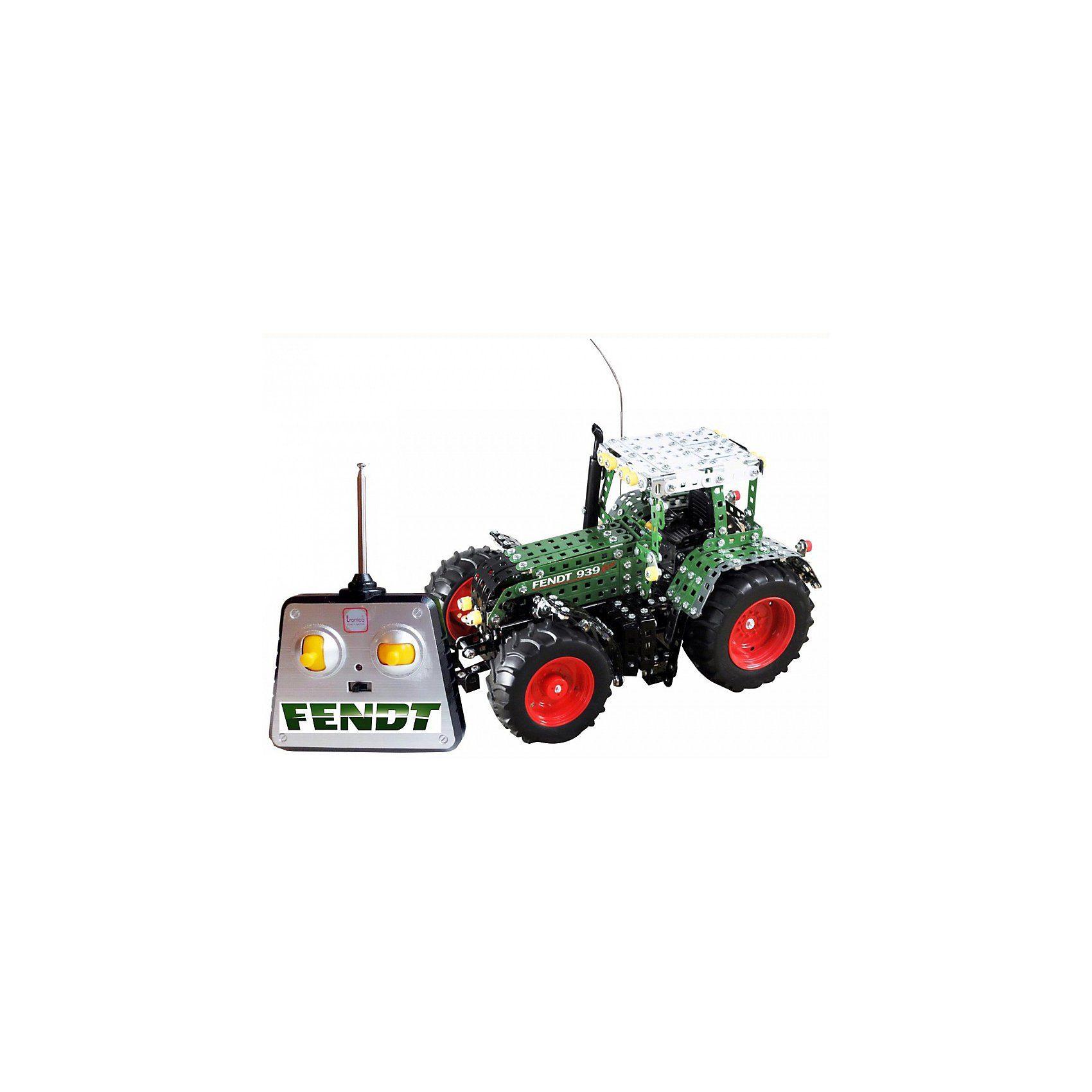 Tronico Metallbaukasten RC - Traktor FENDT 939 VARIO 1:16, 4
