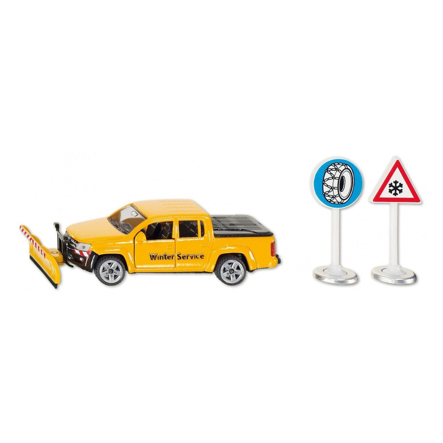 SIKU 2546 VW Amarok Winterdienst 1:50