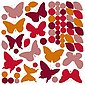 Wandsticker Schmetterlinge, 65-tlg., Bild 2