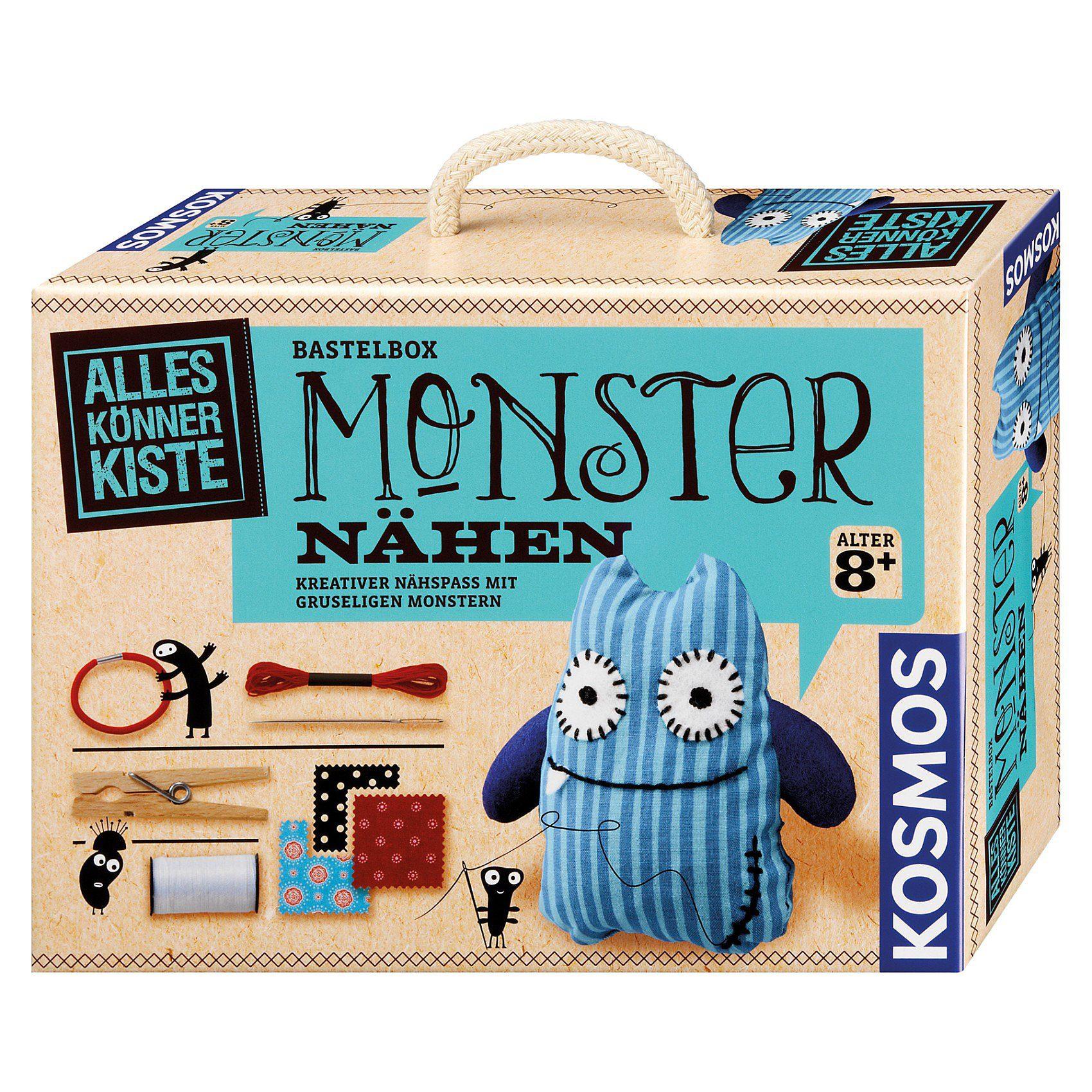 Kosmos Bastelbox Monster nähen
