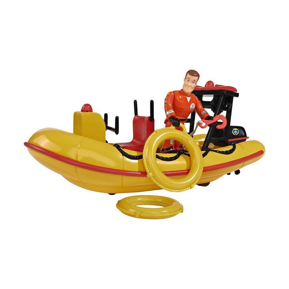Simba Feuerwehrmann Sam Neptune, Boot mit Figur