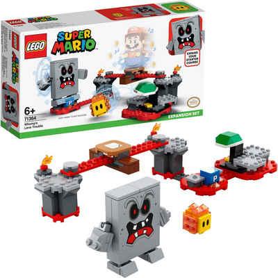 LEGO® Konstruktionsspielsteine »Wummps Lava-Ärger – Erweiterungsset (71364), LEGO® Super Mario«, (133 St), Made in Europe