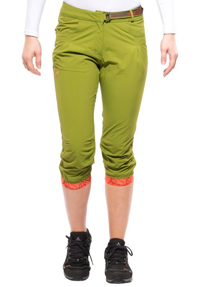 Salewa Hose »Rhytmo Dry 3/4 Pant Women« in grün