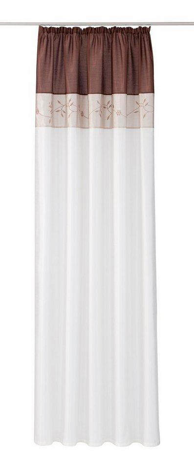 Vorhang, my home, »Sorel« (1 Stück) in schoko