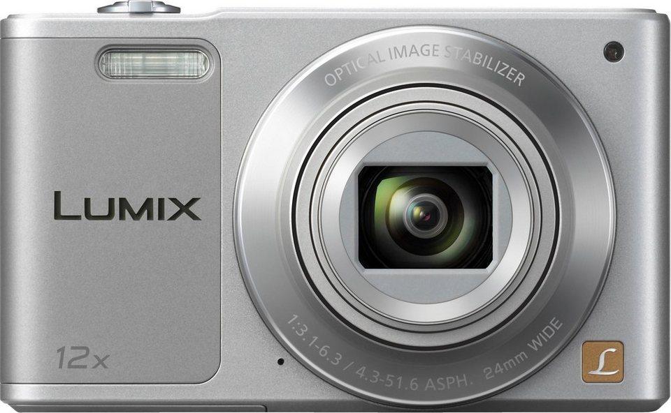 Panasonic DMC-SZ10EG Super Zoom Kamera, 16 Megapixel, 12x opt. Zoom, 6,9 cm (2,7 Zoll) Display in Silber