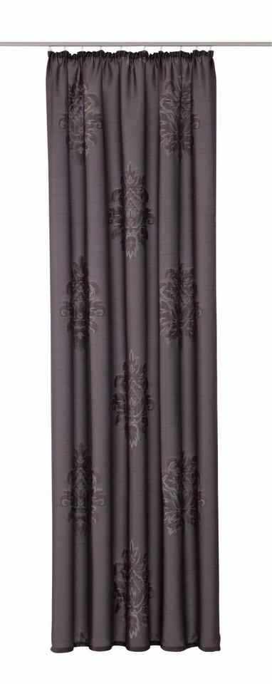 Vorhang, my home, »Bayonne« (1 Stück) in anthrazit-petrol