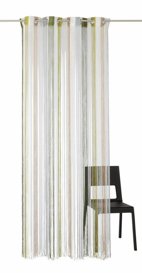 Fadenvorhang, my home, »Kabalo«, Multicolor (1 Stück) in grün-braun-weiß