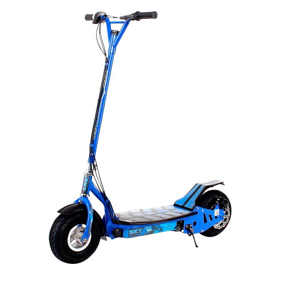 E-Scooter »SXT300«, 300 Watt, 20 km/h in blau